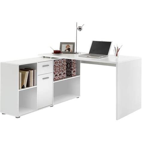 bureau avec retour pas cher bureau d angle r 233 versible flex avec rangements pas cher 224
