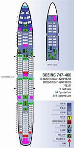 Boeing 747 400 Seat Map China Airlines