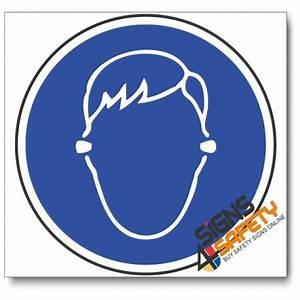 Nosa / SABS (MV28) Ear Plugs Mandatory Sign