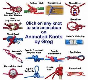 22 Best Images About How To Tie Knots On Pinterest