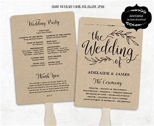 Wedding program template 64 free word pdf psd documents download free premium templates for Free wedding program fan templates