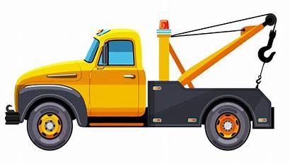 Tow Truck Cartoon Towing Trucks Clipart Semi