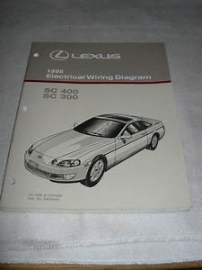 1996 Lexus Sc300 Sc400 Electrical Wiring Diagram Service Manual Sc 300 400