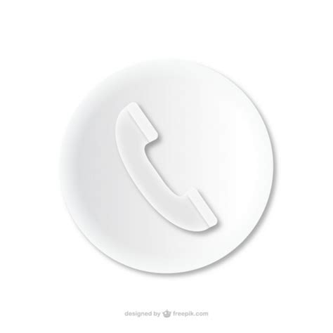 free phone calls phone call embossed icon vector free