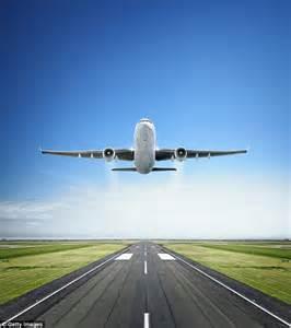 Cartoon Airplane Taking Off