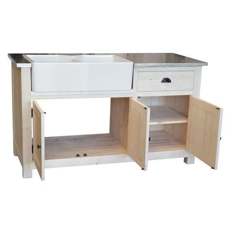 meuble cuisine avec evier meuble de cuisine avec evier intégré le dépôt des docks