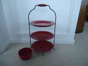 tier pie plate stand wrought iron murrysville  sale  pittsburgh pennsylvania