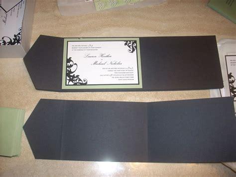 diy entry 5 tri fold invitations elizabeth designs the wedding blog