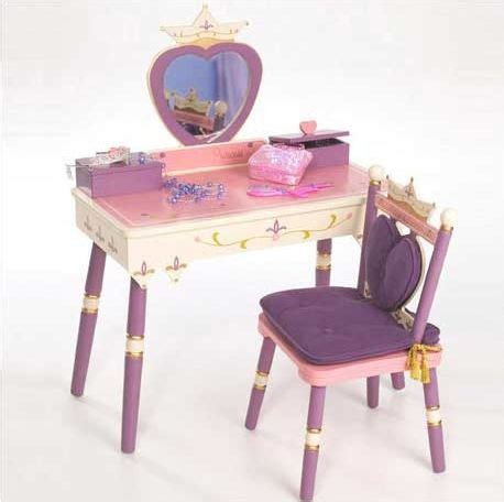 little girls makeup table the levels of discovery princess vanity table and chair set