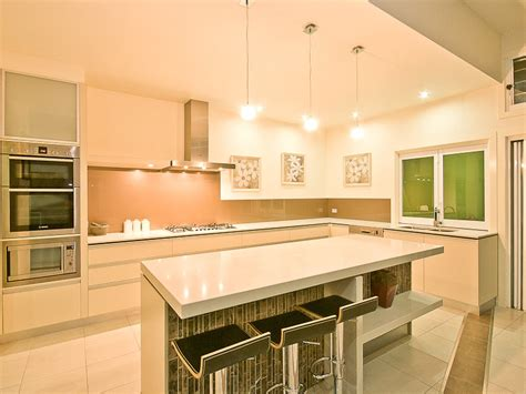 modern island kitchen designs modern island kitchen design glass kitchen photo