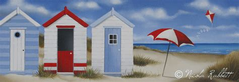 nautical wall hut paintings nicola rabbett
