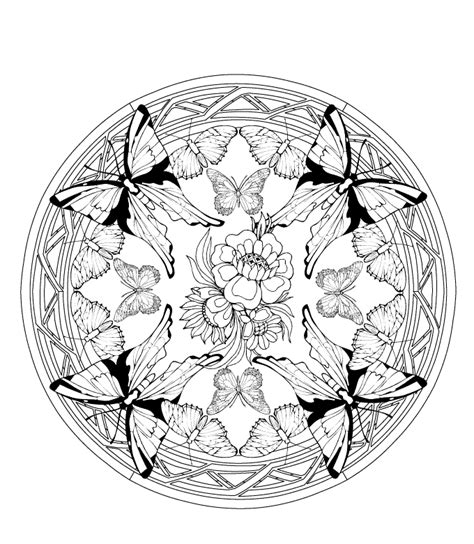 mandala coloring pages  adults coloring home