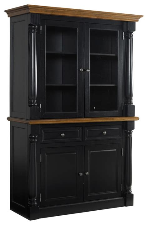 modern buffets and china cabinets monarch black buffet and hutch contemporary china