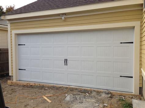 Garage Door Quieter by C H I Overhead Doors Model 5283 Steel Carriage House