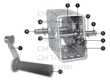 winches cm trailer parts new zealand trailer parts