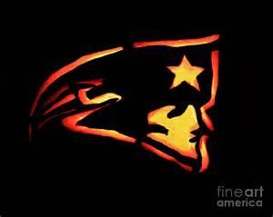 Free Patriots Pumpkin Carving Stencil by Jacko Lantern Patriots Photograph By Lloyd Alexander
