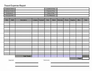 Travel Expenses Form Template Free Printable Travel Expense Report Pdf Template