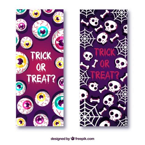 Our group is open to anyone who wants to seek & share svg files, ask cutting our cut files comes with svg, dxf, png & eps files, and they are compatible with cricut, cameo silhouette studio and. Free Vector | Creepy halloween banners