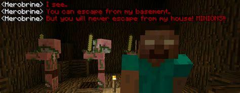 extreme herobrine  modded map adventure minecraft