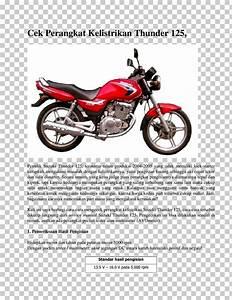 Wiring Diagram Kelistrikan Suzuki Thunder 125