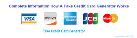 Compare credit card offers and apply now! Complete Information How a Fake Credit Card Generator Works - Arrow Tricks
