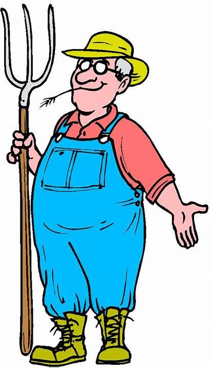 Farmer Dell Cartoon Farmers Clipart Mother Farm