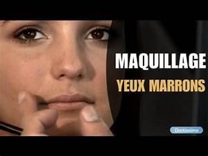 Maquillage Soirée Yeux Marrons : maquillage des yeux marrons youtube ~ Melissatoandfro.com Idées de Décoration