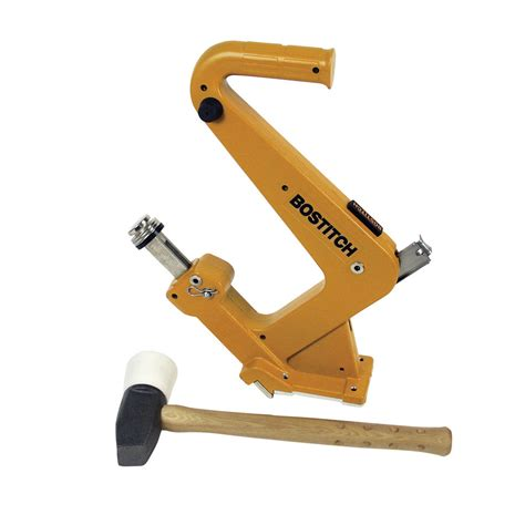 lowes flooring nailer shop stanley bostitch manual flooring cleat nailer kit at lowes com