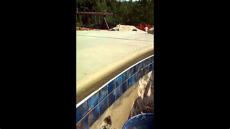 cantilever concrete coping pool decks youtube