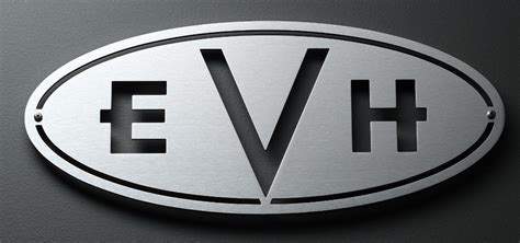 Logo Replacement by Evh Mountable Oval Badge 100w Or 4x12 Cab