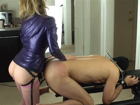 Femdom Strapon Pegging  Cuminownmouth Cumeating