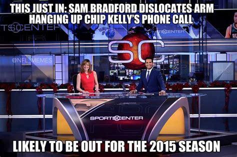 Sam Bradford Memes - sam bradford injured again nfl memes pinterest eagles