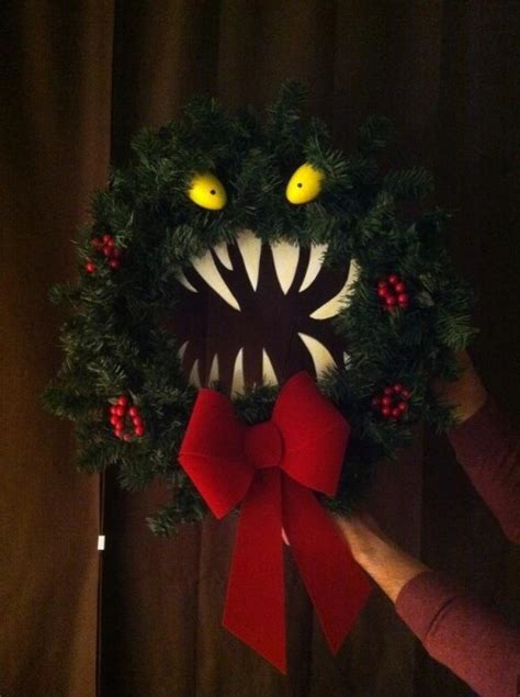 30 monster doors and monster wreaths to greet trick or treaters this halloween diy crafts
