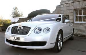 wedding cars white bentley continental wedding car hire cupid carriages