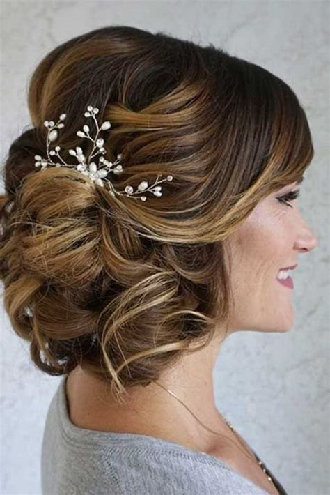 mother   bride hairstyles  dos mother