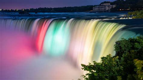 colorful niagara falls  hd  wallpapers