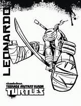 Ninja Coloring Christmas Turtles Pages Teenage Mutant sketch template