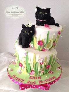 Yesterday was my birthday (24) and my friend verity made me this beauty of a cake. 1105 Best Cat Cakes images | Cat cake, Cupcake cakes, Animal cakes