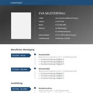 lebenslauf design vorlage vorlage grau blau tabellarischer lebenslauf