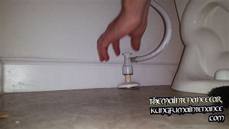 how to repair a leaking kitchen faucet how to shut toilet water supply for mobile home push