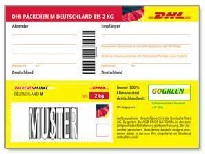 Dhl Versand Deutschland : dhl p ckchenmarken m deutschland bis 2 kg shop der deutschen post ~ Orissabook.com Haus und Dekorationen