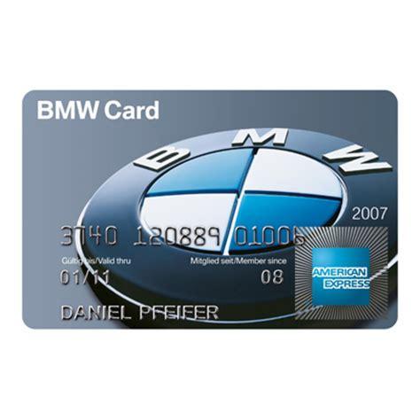 Die Neue Bmw Card Von American Express (012008
