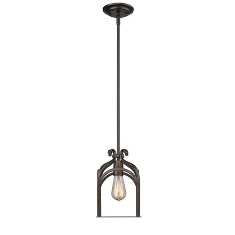 gateway lighting and fans golden lighting gateway 1 light fired bronze pendant 5815