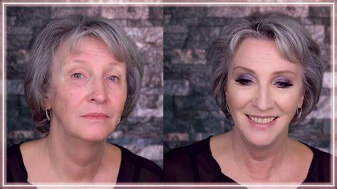 reife haut make up reife haut schminken tutorial anti aging make up ab 40 50 60 70 pflege serum umstyling 228 ltere