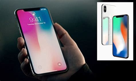 iphone x pre orders sell out within minutes daily mail