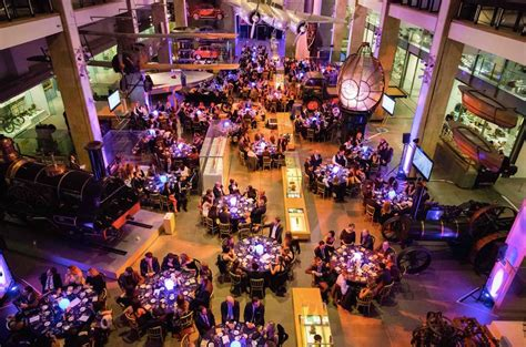 christmas party at the science museum eventspiration