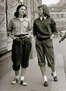 Mode Femme Année 50 : mode annees 40 femme et pantalon history fashion fashion history et tomboy fashion ~ Farleysfitness.com Idées de Décoration