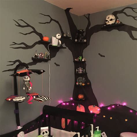 nightmare before christmas nursery on a budget the brain squirrel monologues kid stuff
