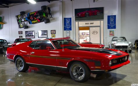71 Mustang Mach 1 Wallpaper And Background