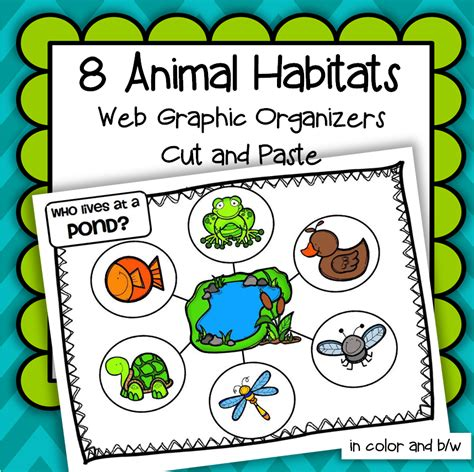preschool science free lesson plan and activities about 310   animal habitats cover square 2 orig